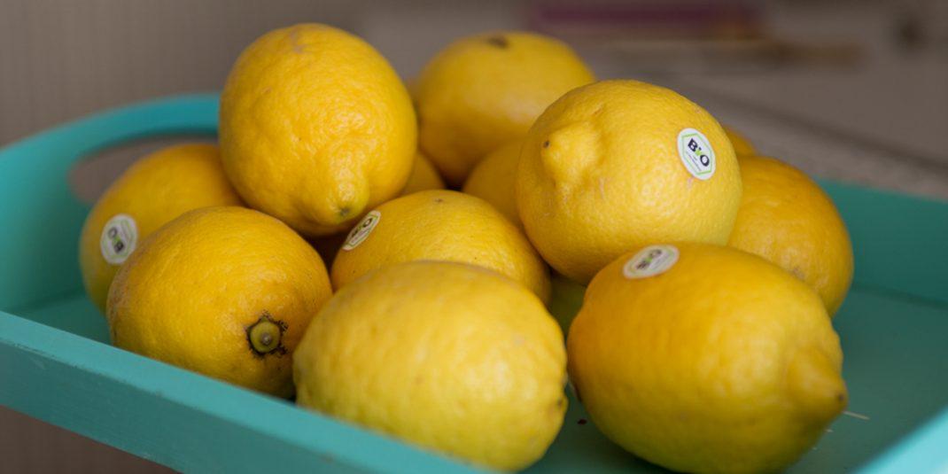 Nettoyage du printemps, la cure de citron !