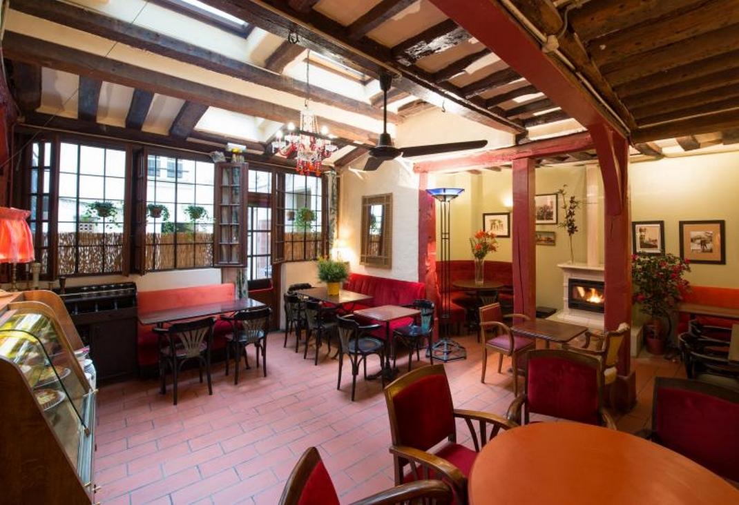 restaurant quincampe cheminée éco-friendly