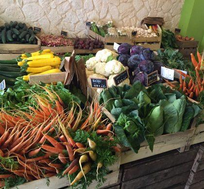 Récoltés, livrés et mangés dans la même journée