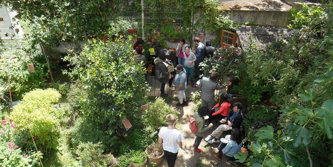 Le jardin partagé L'Univert – Paris 18
