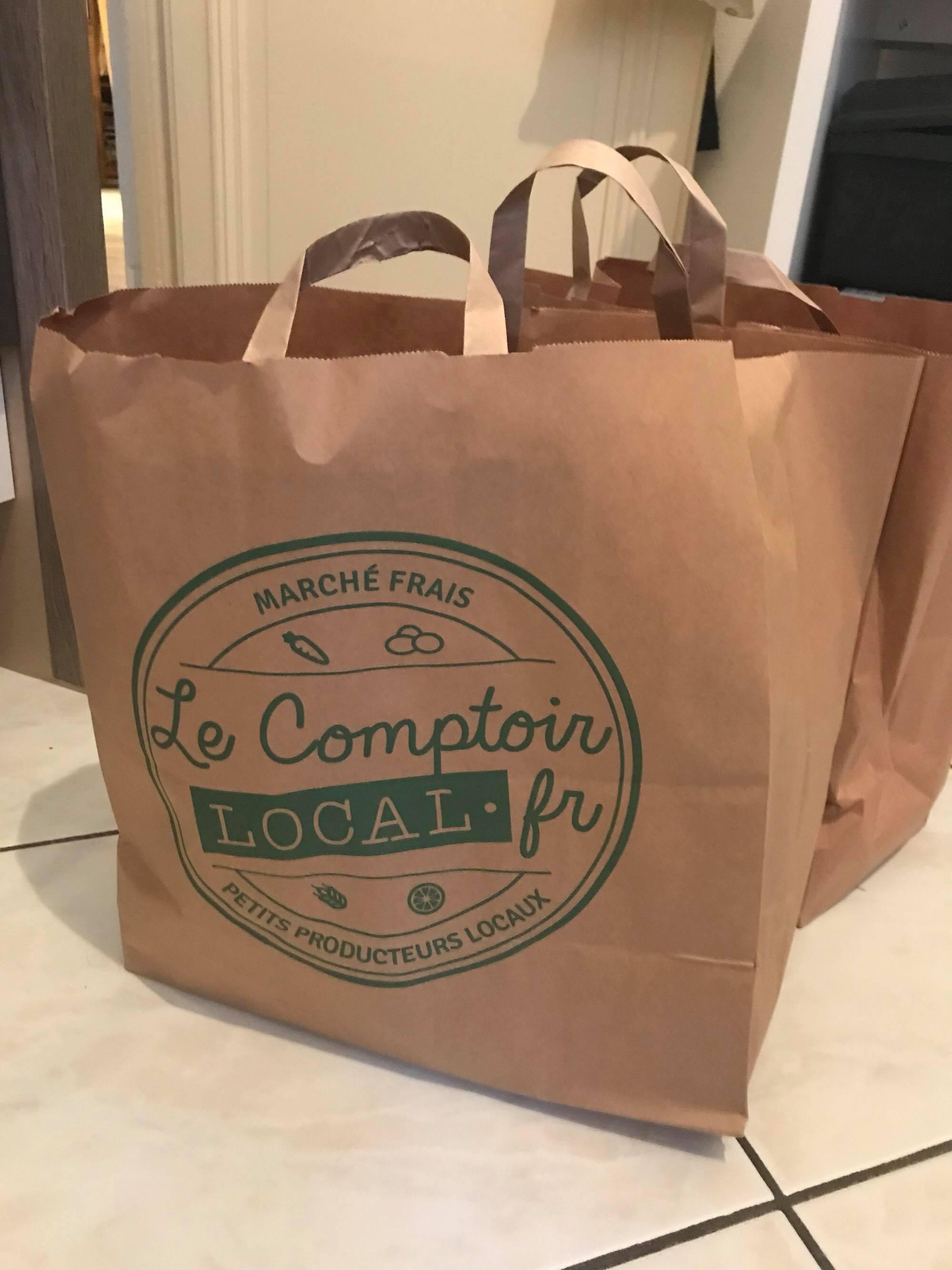Courses locales livrées de petits producteurs en Ile de France, Le Comptoir Local