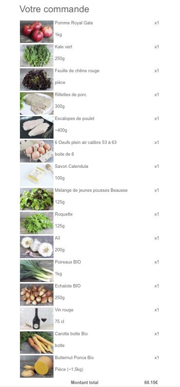 courses locales commandées sur internet sur Le Comptoir Local. Courses locales livrées de petits producteurs en Ile de France