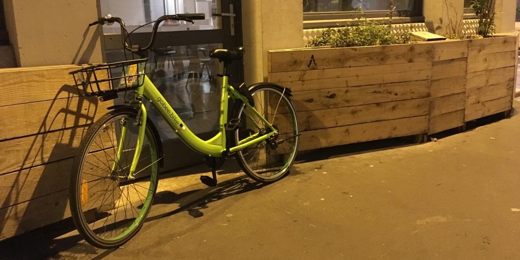Vélos en libre service : on a testé Gobee Bike