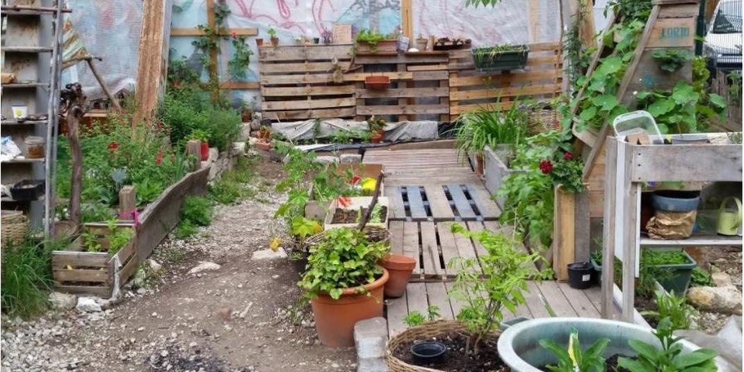 Le jardin partagé Le verger de la Goutte-d'Or – Paris 18
