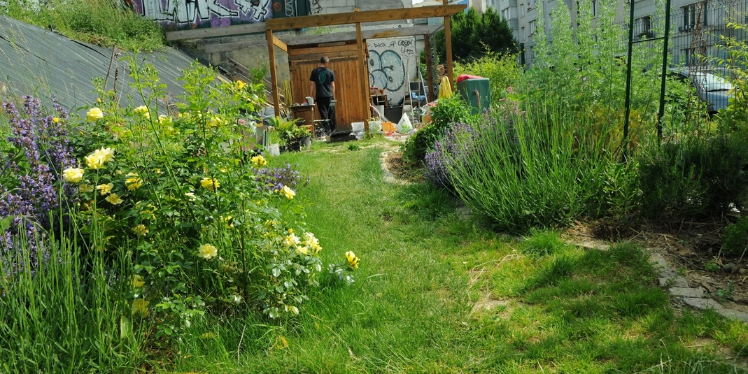 Le jardin partagé Un P'tit Bol d'Herbe – Paris 19