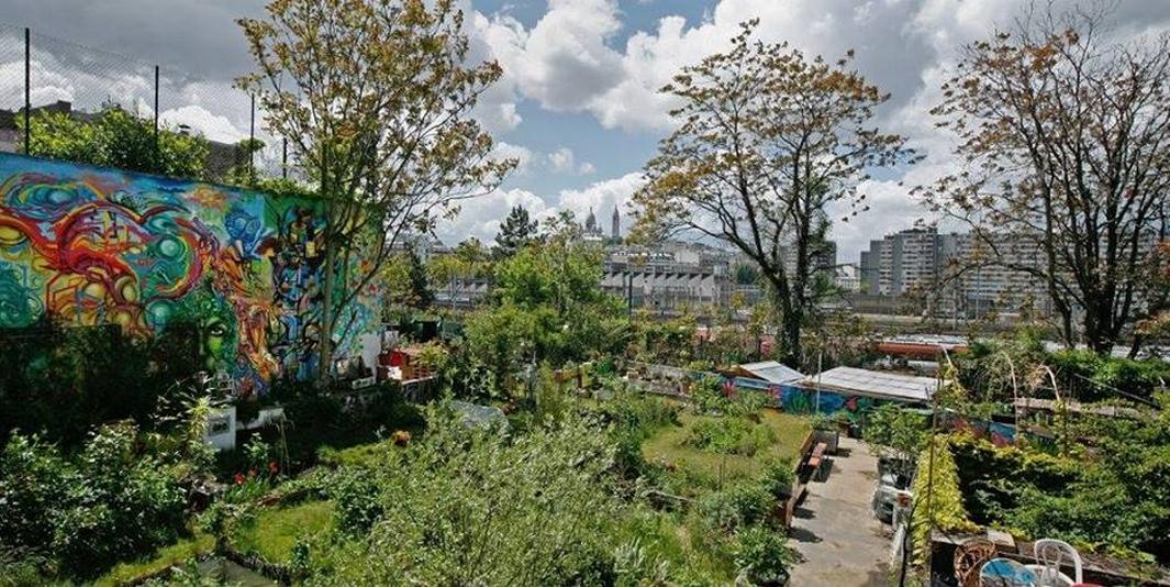 Le jardin partagé ECObox – Paris 18