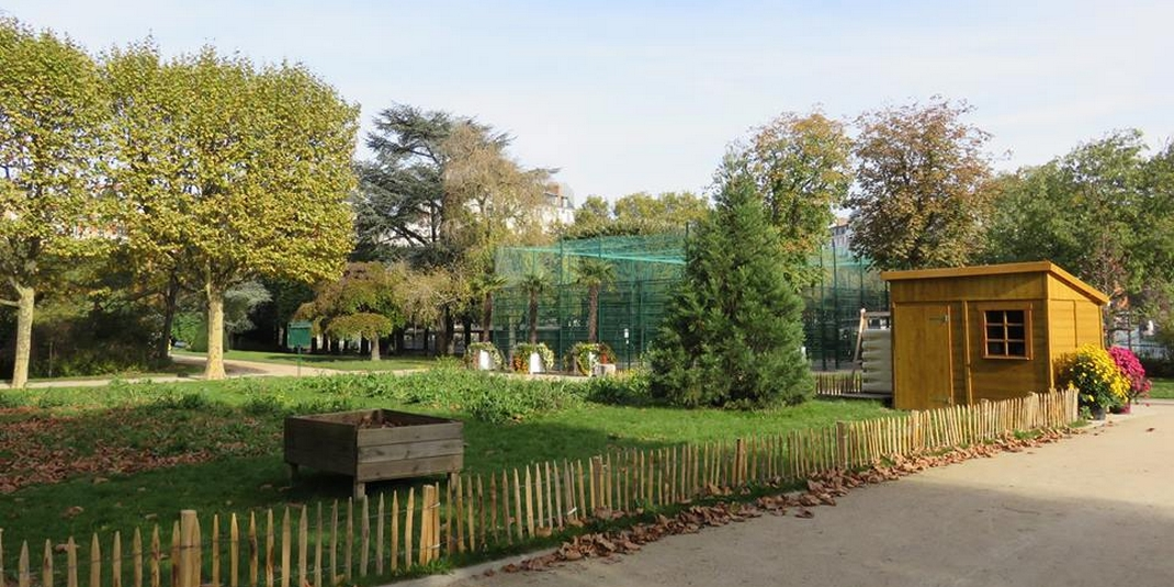 Le Jardin Partage Oasis De Koufra Paris 14 Le Cri Du Zebre