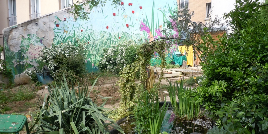 Le jardin partagé Papilles et papillons – Paris 20