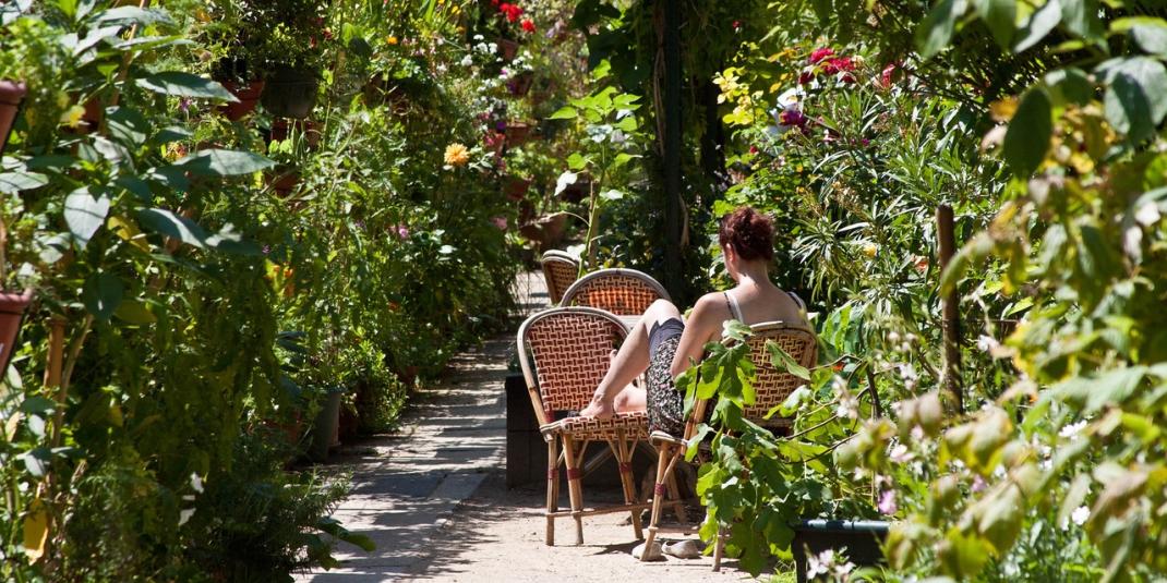 Les jardins du ruisseau : se détendre et apprendre