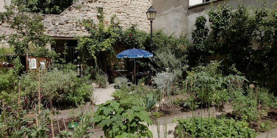 Le jardin partagé le Potager des Oiseaux – Paris 03