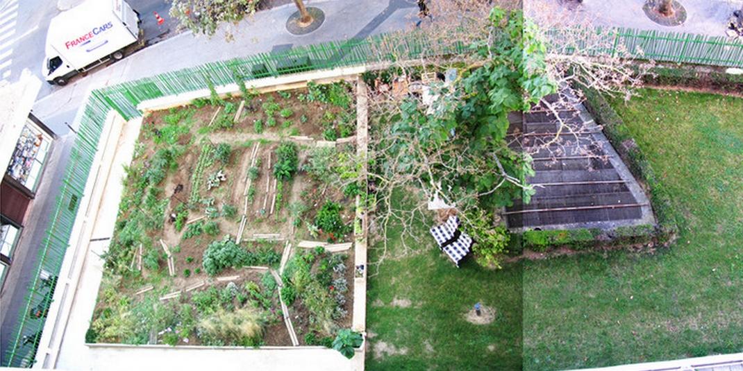 Le jardin partagé d'Augustin – Paris 19