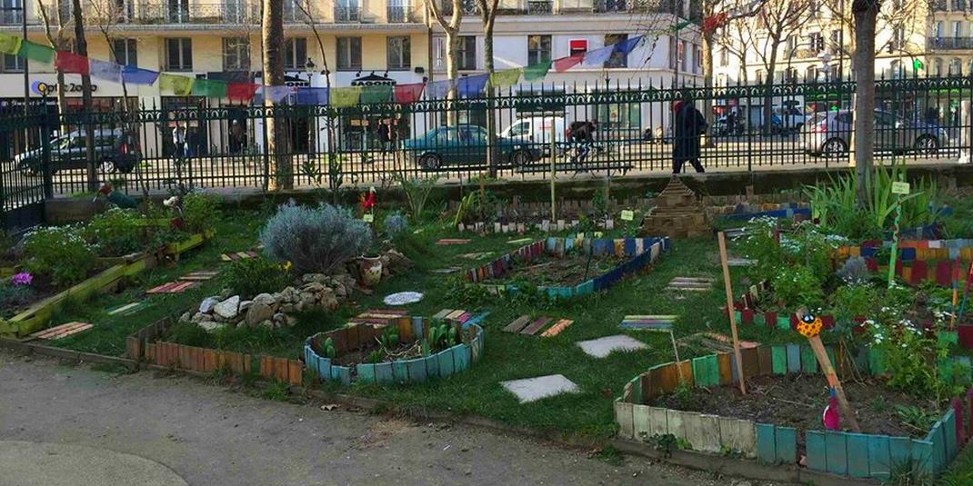 Le jardin partagé Saint-Laurent  – Paris 10