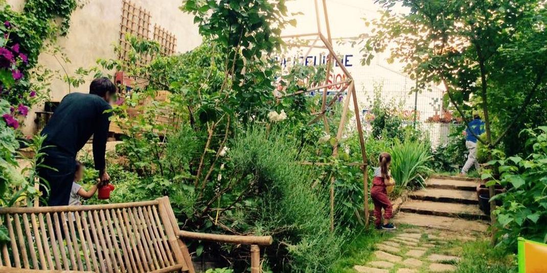 Le jardin partagé Jardin Baudélire – Paris 18