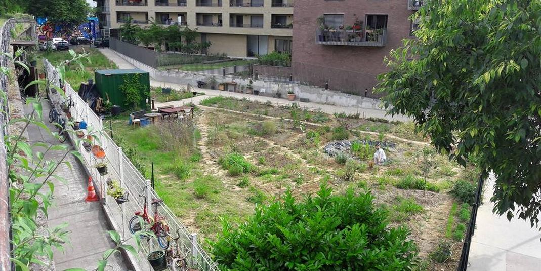 Le jardin partagé Charmante Petite Campagne Urbaine – Paris 19