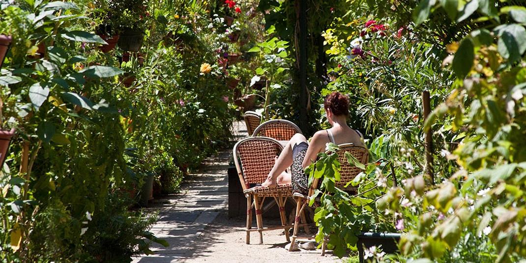 Le jardin partagé Les jardins du ruisseau – Paris 18