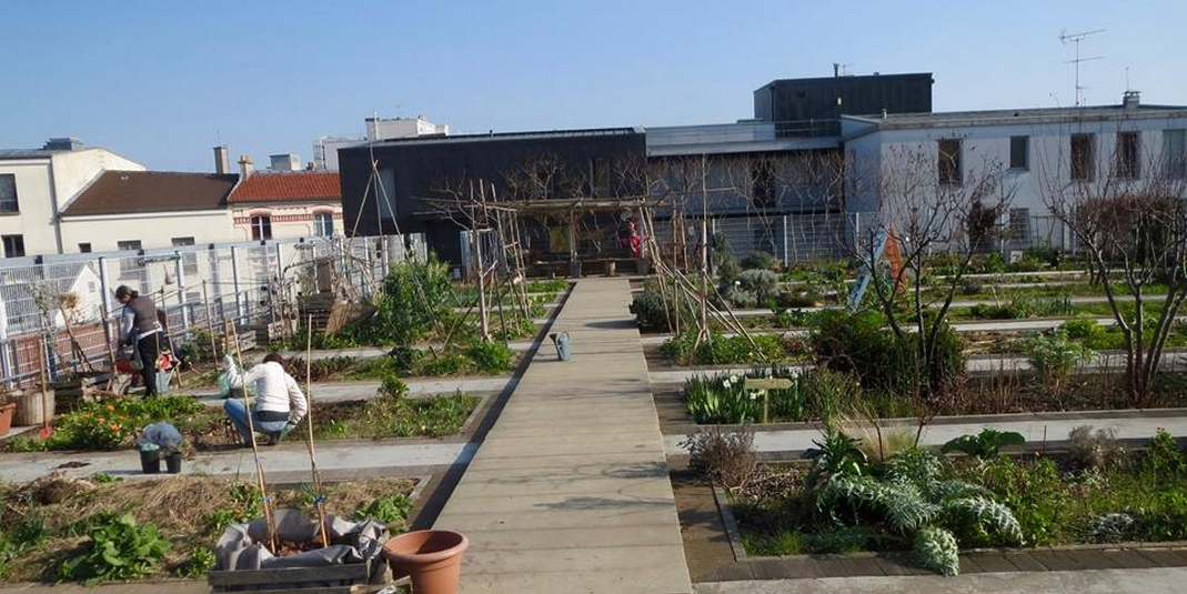 Le jardin partagé Le jardin perché – Paris 20