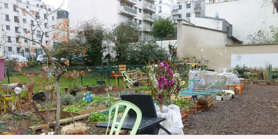 Le jardin partagé de la Félicité – Paris 15